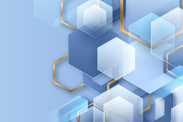 Дизайн фона перекрывающихся форм