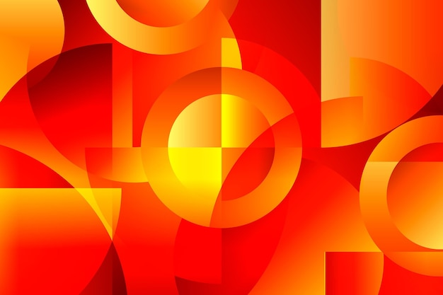 Фон перекрывающихся форм