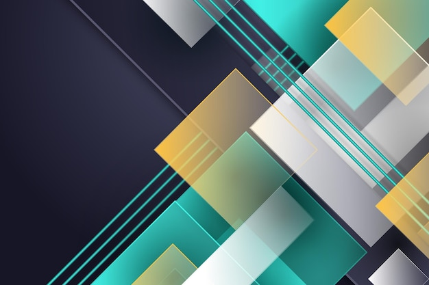 Overlapping forms background