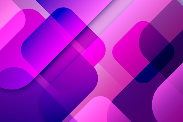 Overlapping forms wallpaper theme