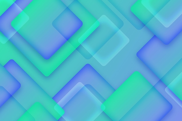 Overlapping squares background design