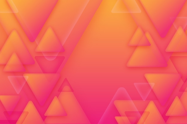 Overlapping triangles background design