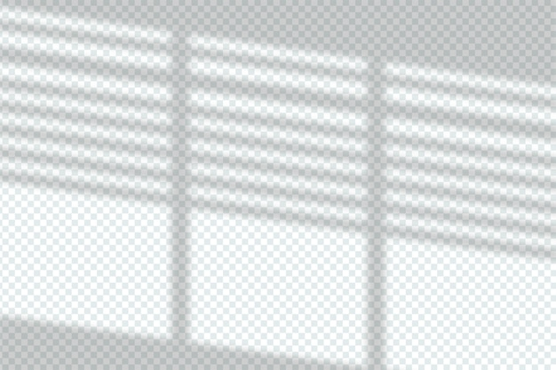 Эффект наложения прозрачных теней