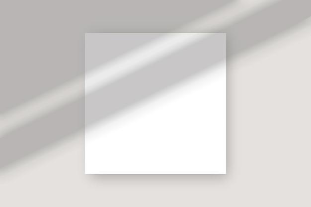 紙へのオーバーレイ効果。自然光のシーン