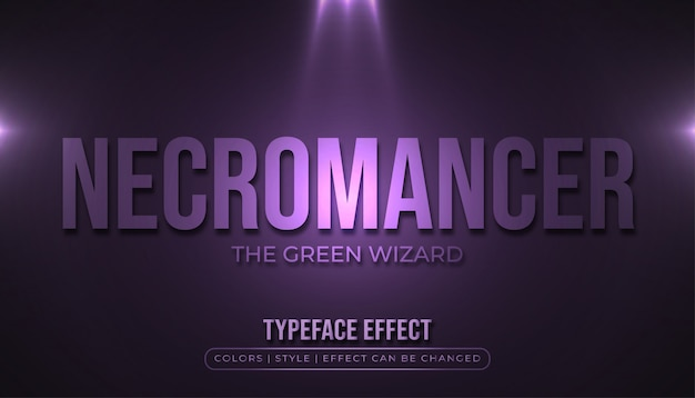 Overlay text style effect