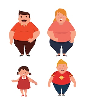 Overweight family