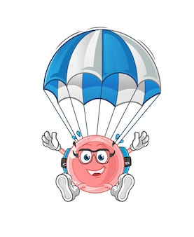 Ovum skydiving character