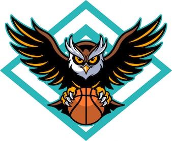 フクロウバスケットボール
