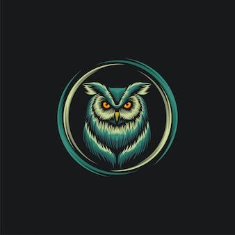 Owl design ilustration