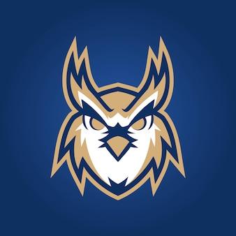 フクロウeスポーツのロゴ