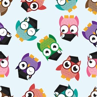 Owl graduation back to school