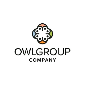 Owl groupロゴ