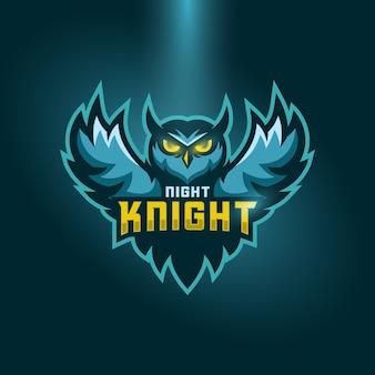 Owl sports logo concept