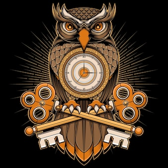 Owl time vector