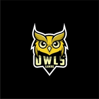 Owls gaming logo design