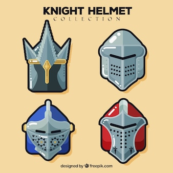 Confezione di adesivi per casco da corazza