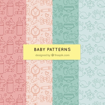 Pack of baby patterns