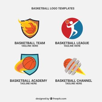 Confezione da loghi di basket