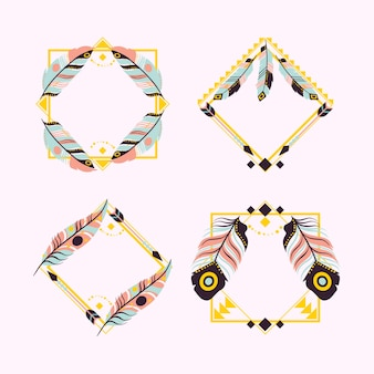 Pack of beautiful boho frame
