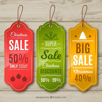 Pack of christmas sale stickers