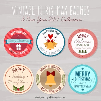 Pack of christmas stickers