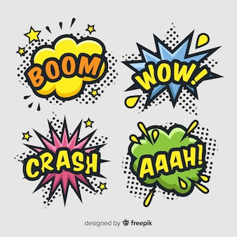 Pack of comic sound effects