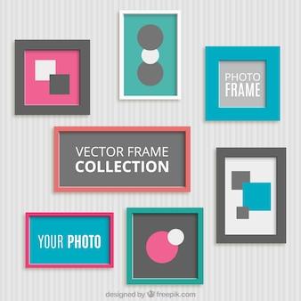 Pack of decorative flat frames