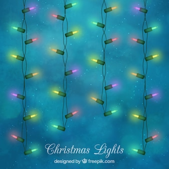 Pack of decorative lights for christmas