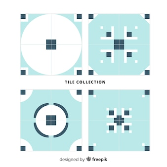 Pack of decorative tiles