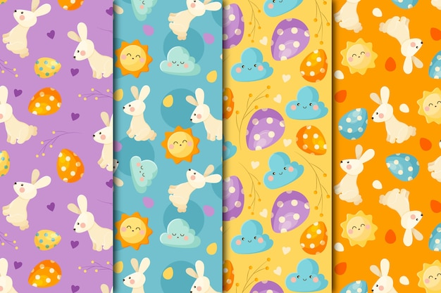 Pack of easter day patterns