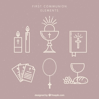 Pack of first communion items