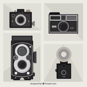Confezione da telecamere piatti d'epoca