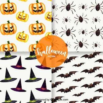 Pack of four pumpkin patterns and other pumpkin items