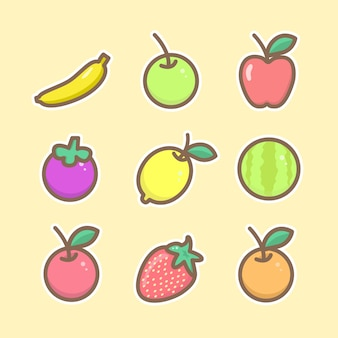 Pack of fruits