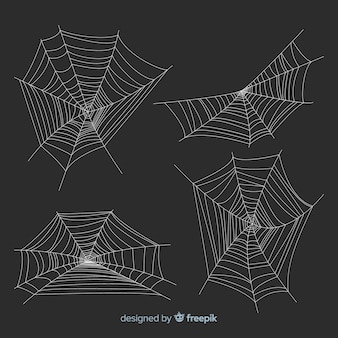 Pack of halloween cobwebs
