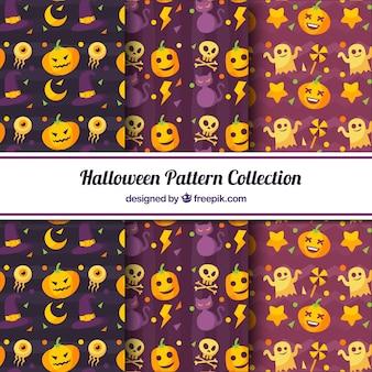 Пакет хэллоуина с декоративными элементами