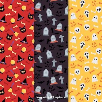 Pack halloween patterns