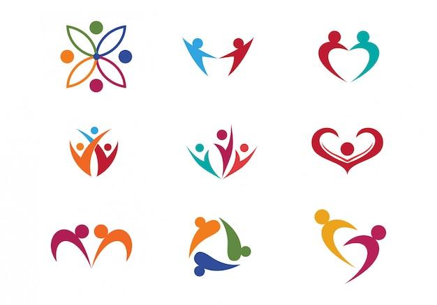 Pack of healthcare logo/icon design