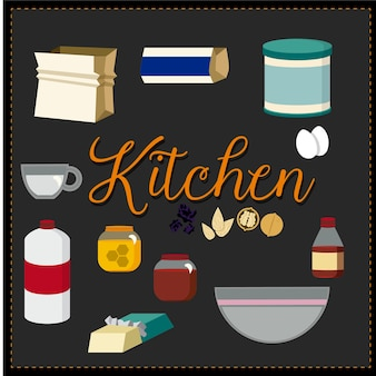 Pack kitchen icons