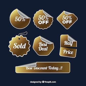 Pack of luxury sale sticker