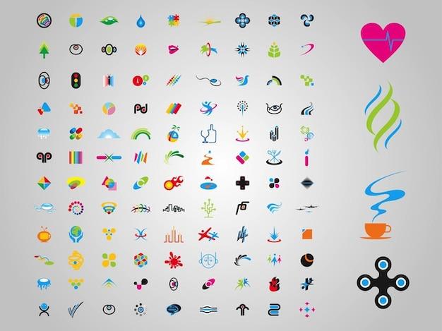 Pack of minimal logos