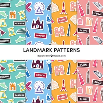 Pack of monumental patterns