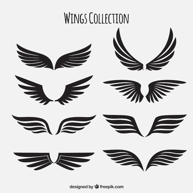 wings vectors photos and psd files free download rh freepik com free vector wings clipart free vector wings clipart