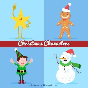 Пакет рождественских персонажей