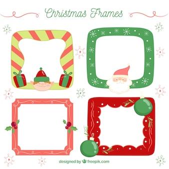 クリスマスフレームのパック