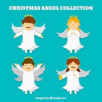 귀여운 크리스마스 천사의 팩