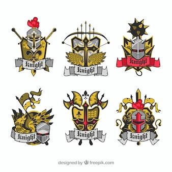 Пакет эмблем рыцарей