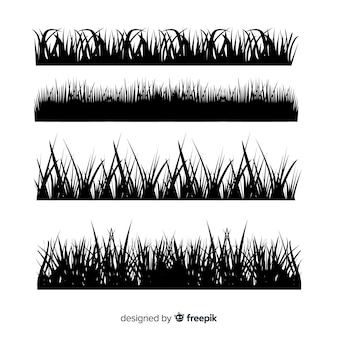 Пакет травяных бордюров