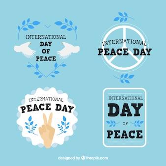 평화를위한 라벨 팩