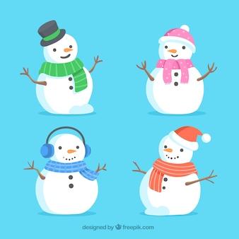 Pack of lovely snowmen